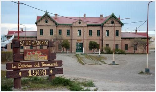 Museo del tren en Puerto Deseado