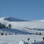 Esquiar en Batea Mahuida, en Neuquén