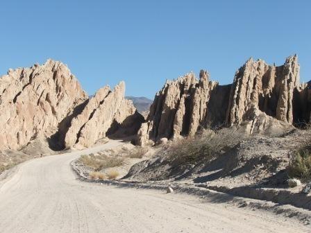 Quebrada de las Flechas- Valles calchaquies
