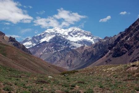 El Aconcagua, camino a lo mas alto