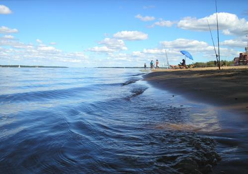 Banco Pelay, las playas del Litoral