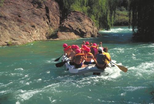 Cañón del Atuel, rafting, San Rafael, Mendoza
