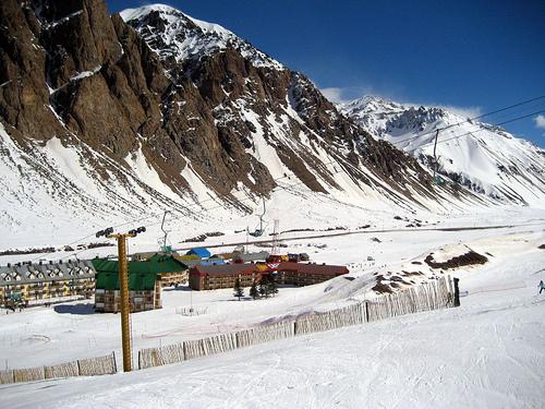 Penitentes, paraiso blanco para esquiar