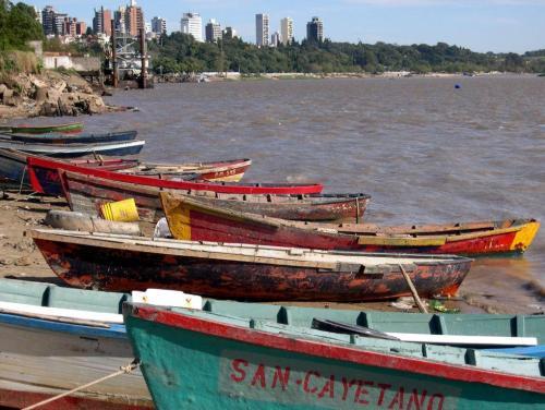 Puerto Sánchez, Paraná.