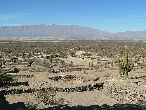 Las ruinas de los Quilmes, en Tucuman