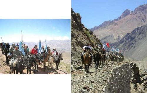 Recorriendo los Andes