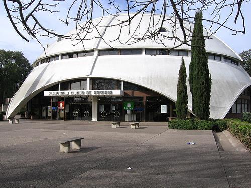 El Planetario de la ciudad de Rosario