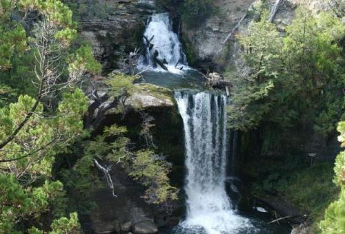 Cascada cerca de Trevelin, Chubut