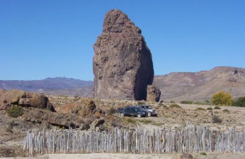 Valle de Punta Parada, una roca desolada