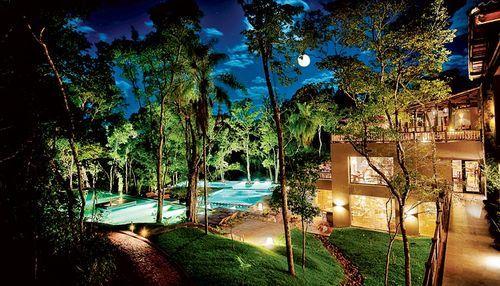Hotel en medio de la selva misionera
