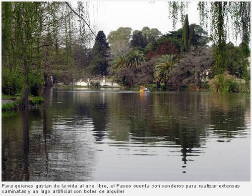 El Paseo del Bosque de La Plata