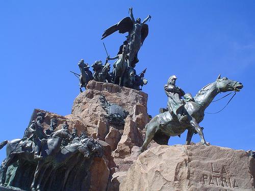 Monumento al ejercito de los Andes