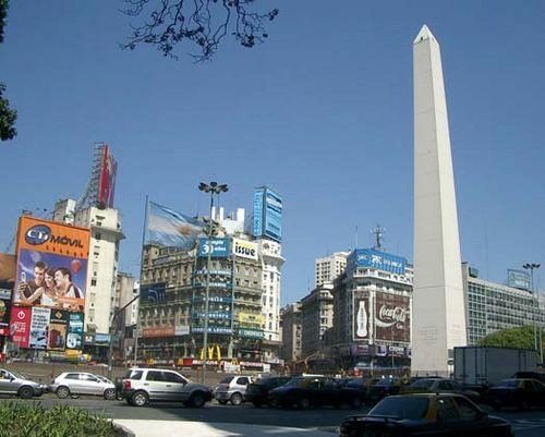 argentina y su obelisco