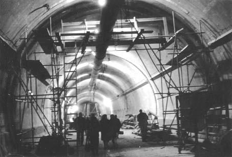 Interior del Tunel Subfluvial Raul Uranga-Carlos Sylvestre Begnis
