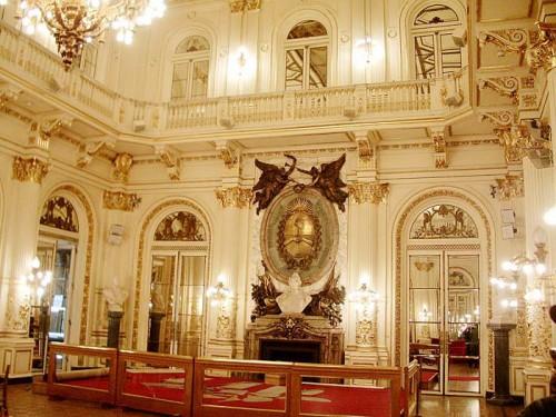 Salon Blanco de la Casa Rosada de Buenos Aires