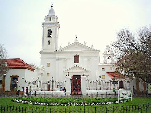La basílica del Pilar en Recoleta