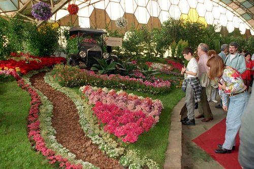 La Fiesta Nacional de la Flor en Escobar