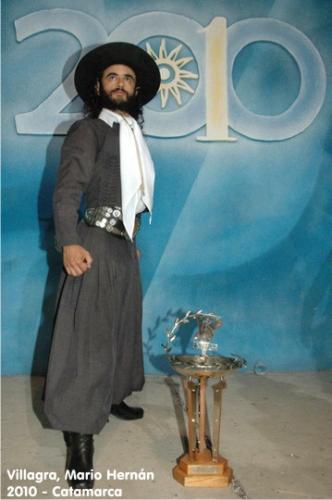 Campeon nacional de malambo 2010