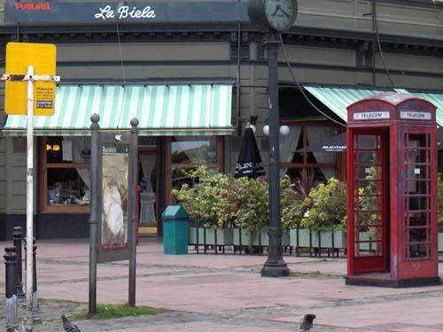 Bar La Biela, un clásico de Recoleta