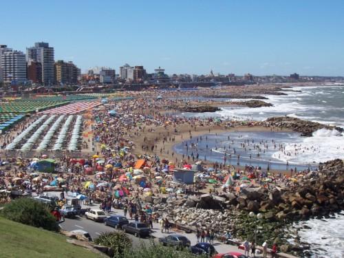 Las playas de Mar del Plata