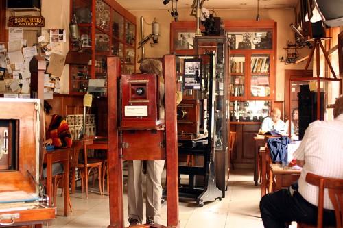 El Museo Fotográfico Simkin del Bar Palacio