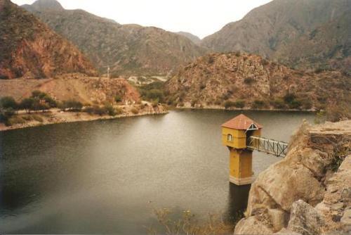 Visita a Sanagasta y el dique de Los Sauces