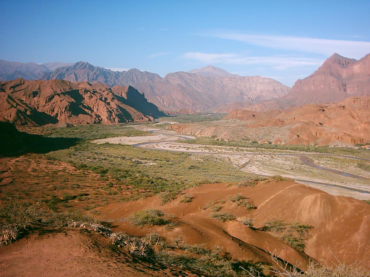 Visita a la Quebrada de Cafayate