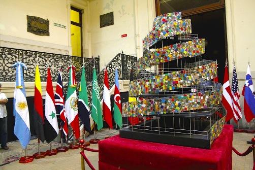 Torre de Babel de libros