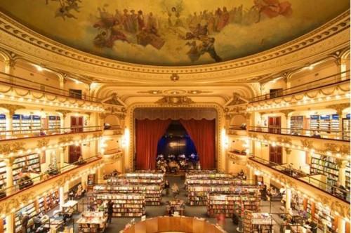 La librería El Ateneo Grand Splendid