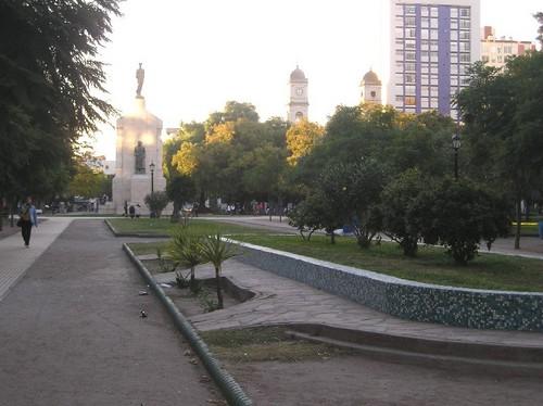 El centro histórico de Bahía Blanca