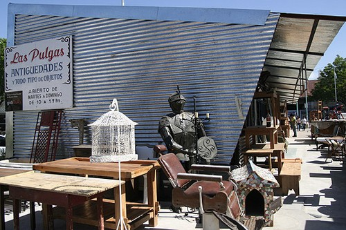 Mercado de pulgas de Dorrego