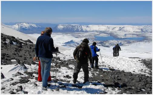 Circuito de trekking en la Patagonia