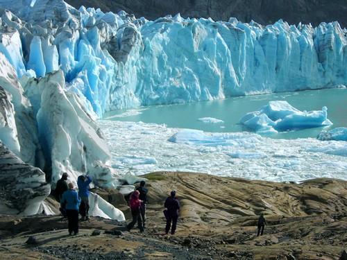 El glaciar Viedma, en la Patagonia argentina