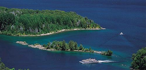 Isla Victoria, en la Patagonia